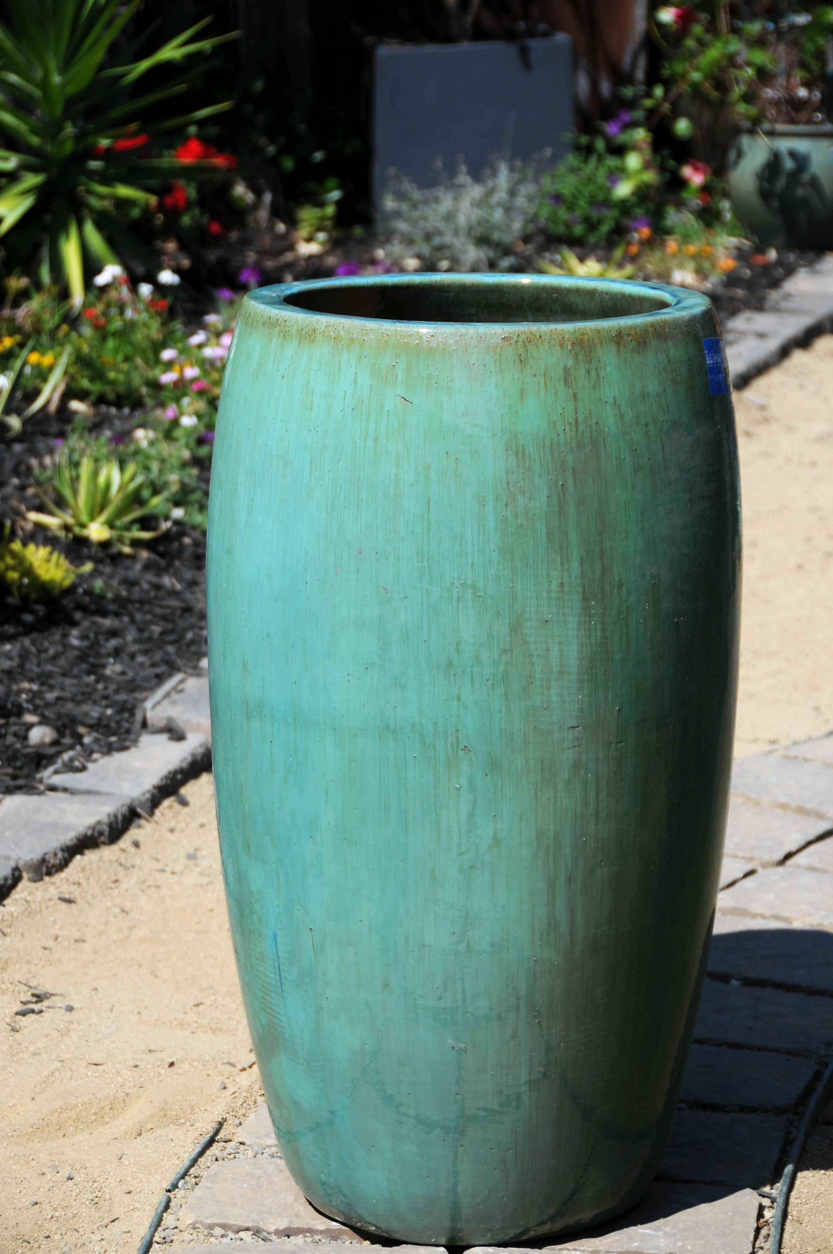 Drum Shaped Planter